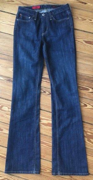 AG Jeans Boot Cut Jeans dark blue cotton