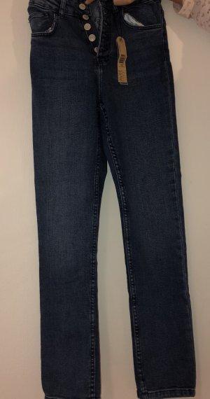 Tally Weijl Jeans taille haute bleu