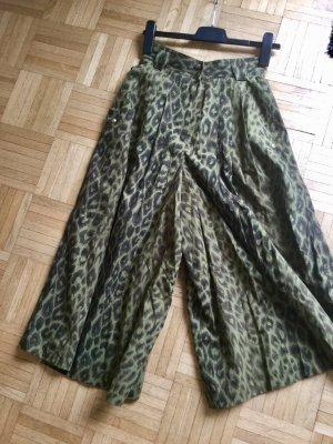 Bogner Pantalon taille haute multicolore coton