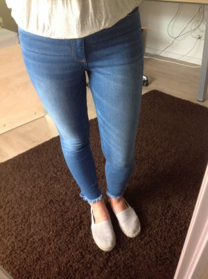 High Waist Cropped Jeans Abercrombie and Fitch W27 L26