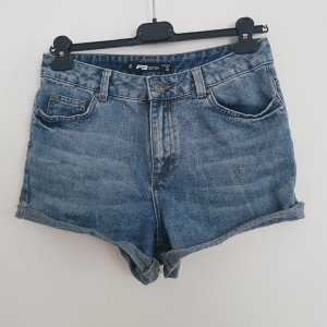 High-Waist Denim-Shorts , ungetragen
