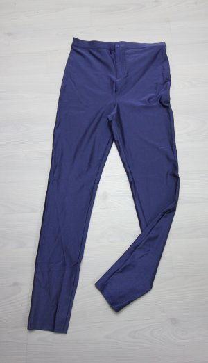 Forever 21 High Waist Trousers blue