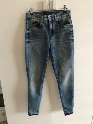 Drykorn Jeans a vita alta blu