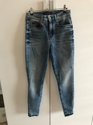 Drykorn Jeans taille haute bleu