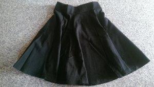 High-Waist Glockenrock von Pimkie in schwarz
