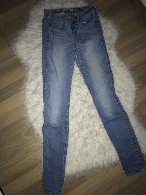 High waist Hollister skinny jeans