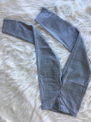 Topshop High Waist Trousers dark grey-white