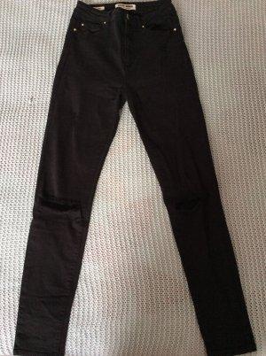 Tally Weijl Pantalon taille haute noir