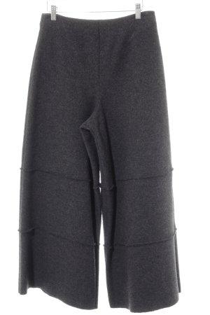 Pantalon taille haute gris anthracite style rétro