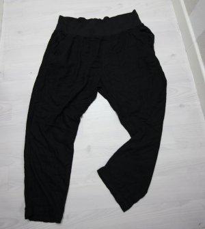 Hoge taille broek zwart