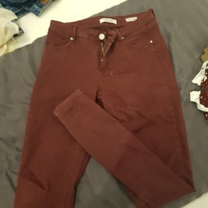 high waist hose bordeaux