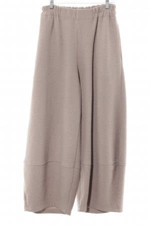 Pantalon taille haute chameau-beige style rétro