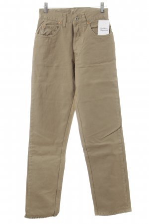 Pantalón de cintura alta camel look casual