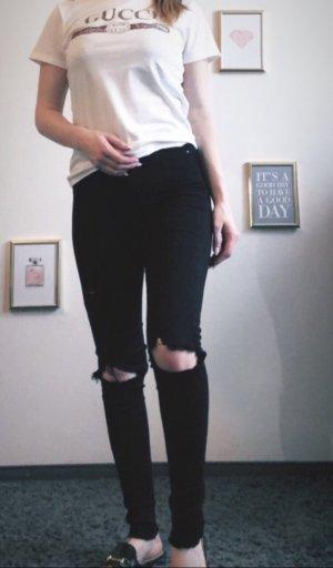 Tally Weijl Pantalón de tubo negro