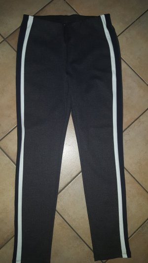 Yessica Pantalon taille haute gris anthracite