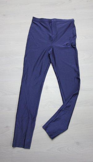 Forever 21 Pantalon taille haute bleu