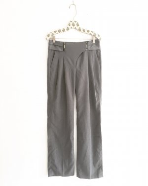 Vintage High Waist Trousers grey