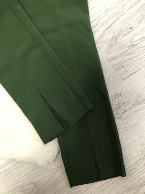 H&M Broek met wijd uitlopende pijpen bos Groen