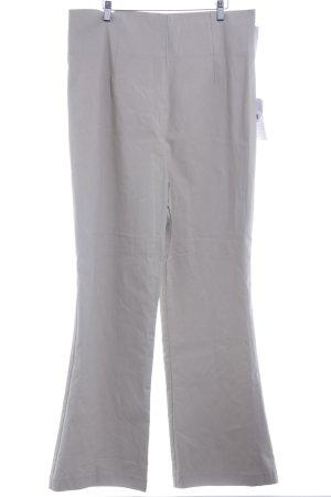 Pantalón de cintura alta beige claro look casual