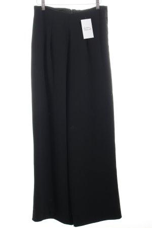High-Waist Hose schwarz klassischer Stil
