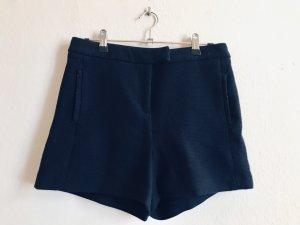 high waist Hose /Shorts dunkelblau 38/M