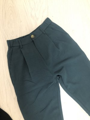 Pull & Bear Chinos petrol-dark blue