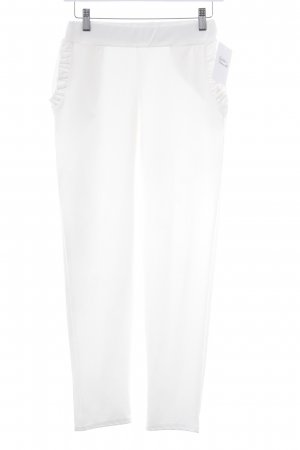 High Waist Trousers white casual look