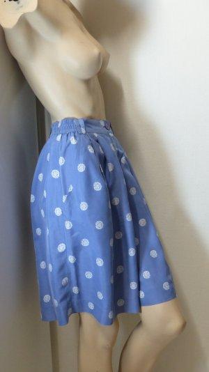 Madeleine Silk Skirt slate-gray-white