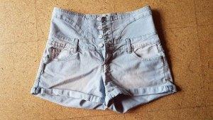 High Waist Hot Pants