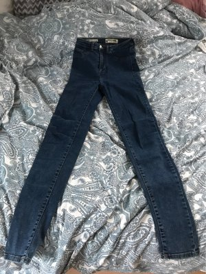 Tally Weijl Hoge taille jeans donkerblauw