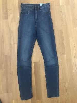 H&M High Waist Jeans blue