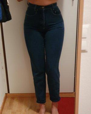 Rosner Pantalon taille haute bleu