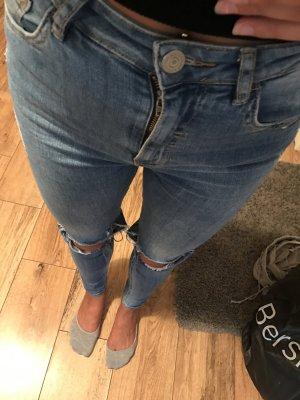 High waist Jeans Bershka