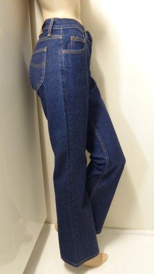 Lee Boot Cut Jeans blue cotton