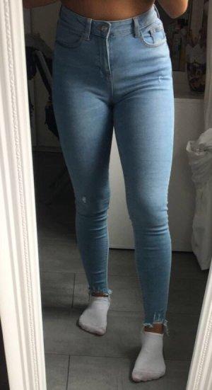 Primark Hoge taille jeans azuur