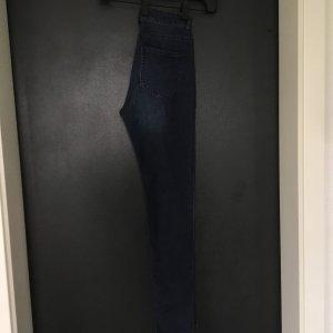 High Waist Jeans Dunkelblau Gr. 36 Neu H&M