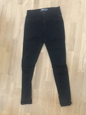 Only High Waist Jeans black