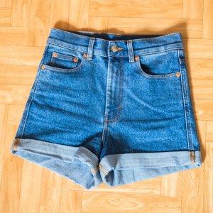 Monki Jeans a vita alta multicolore Cotone