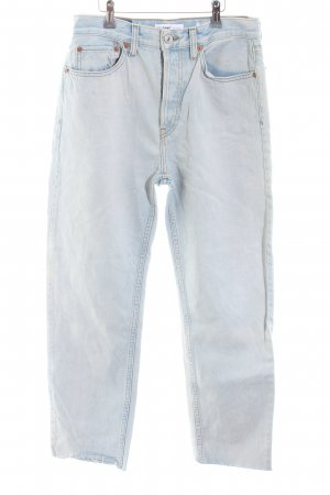 "Jeans taille haute ""High Rise Stovepipe"" bleu pâle"