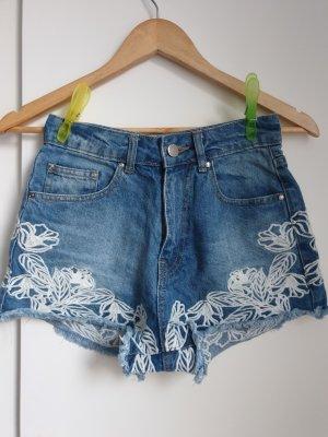 High-Waist Jeans Hose