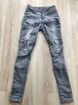 high waist Jeans in grau