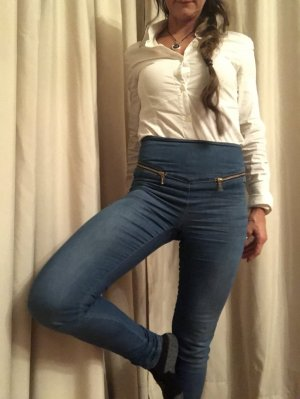High Waist JEANS JEGGINGS GR.34 XS
