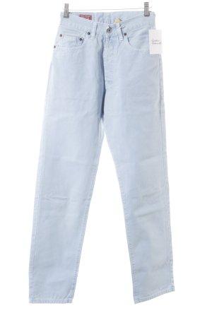 High Waist Jeans kornblumenblau-himmelblau Casual-Look