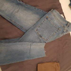 high waist jeans mango