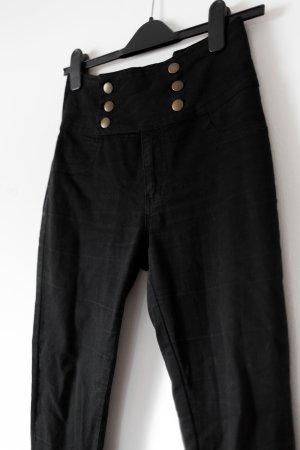 High-Waist Jeans Matrosen-Look