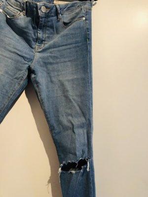 Asos Jeans taille haute multicolore