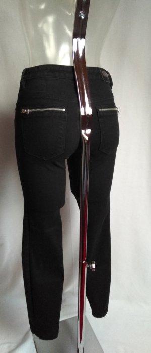 high waist Jeans mit vielen schönen Details! Neuwertig!