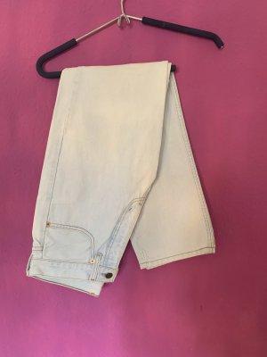 Levi's Hoge taille jeans lichtblauw-lichtgrijs