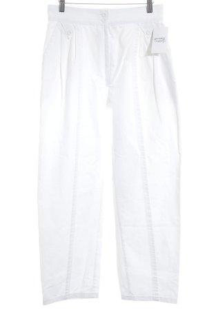High Waist-Jeans Schleifen-Saumdetails