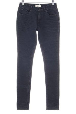 High Waist Jeans schwarz-dunkelgrau Casual-Look